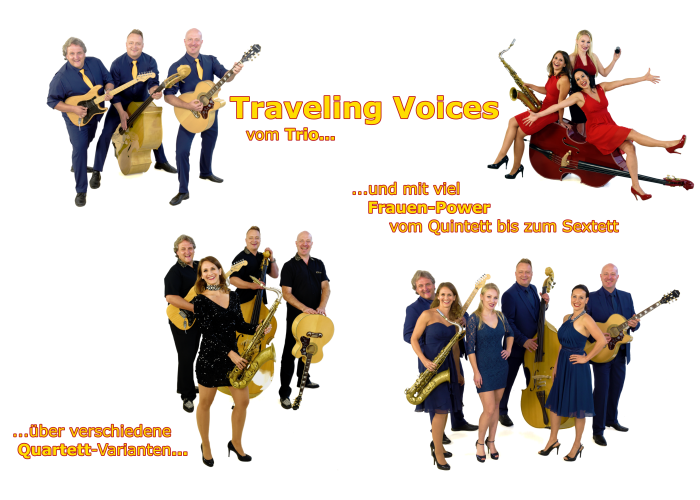 Traveling Voices - flexible Musik